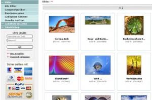 Einstiegsseite Herdima-Webshop