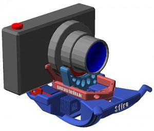 Sfiro mit Steckkarten und Kamera