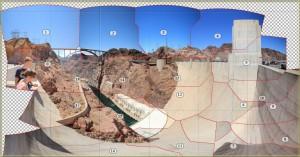 Panorama zusammensetzen - Screenshot aus PTGui